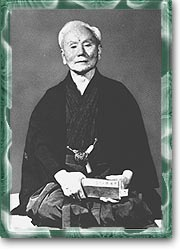 Master Gichin Funakoshi Responsable for taking Karate from the prefecture of Okinawa to Japan.