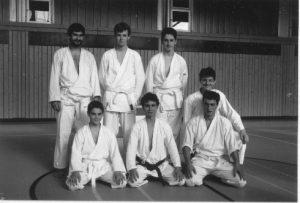 Primi membri di Ticino Shotokan.